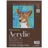 "Strathmore 400 Series Acrylic Paper Pad - 9"" x 12"""